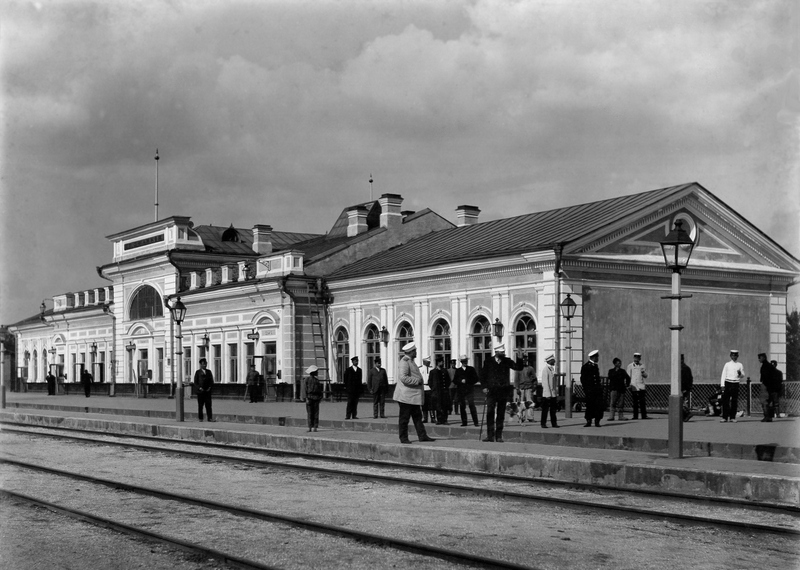 Джанкойский вокзал в 1906 г