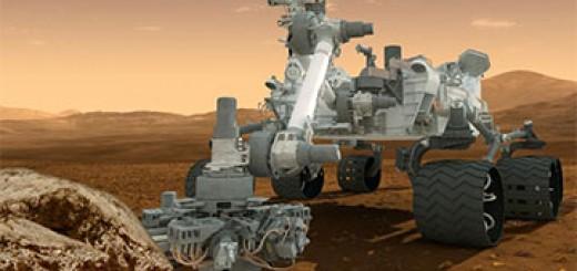 Марсоход Curiosity уже на поверхности Марса
