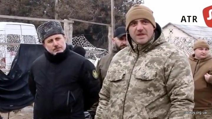 Комбат ВСУ извинился перед крымско-татарским батальоном