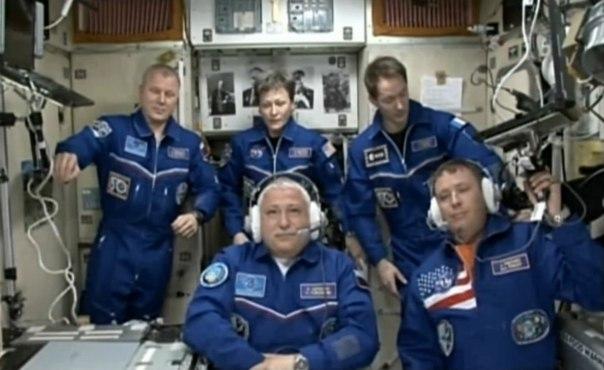С «Гагаринского старта» проведен запуск ракеты «Союз-ФГ» с новым экипажем МКС