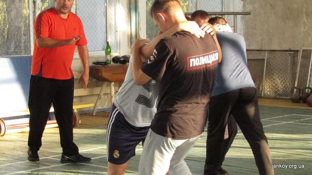1-5 Занятия по рукопашному бою_Джанкой