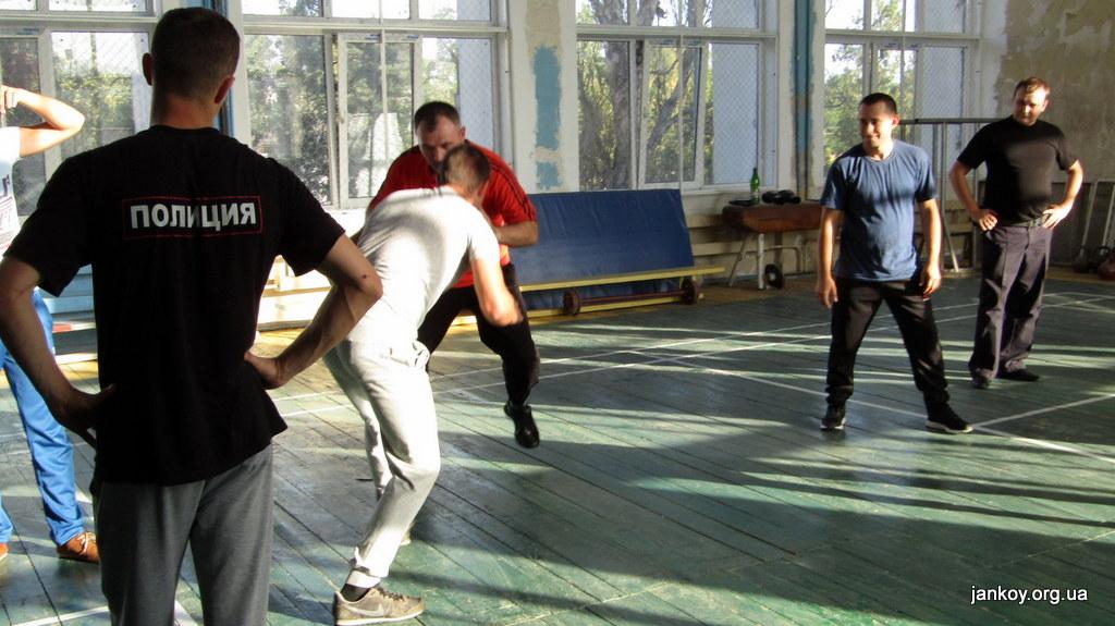 3-1 Занятия по рукопашному бою_Джанкой