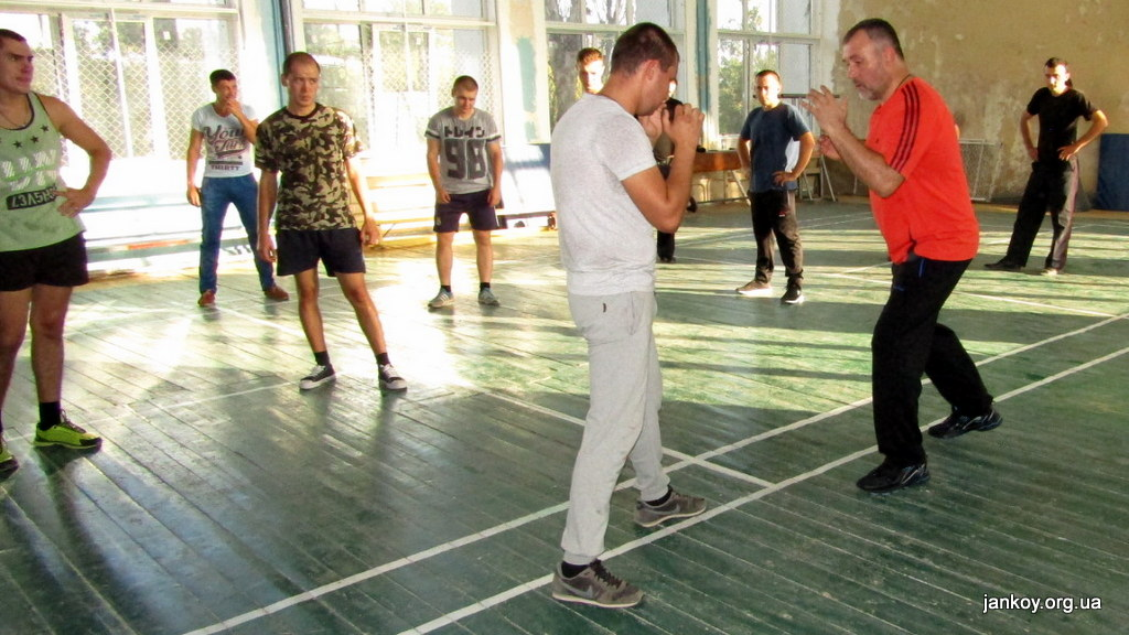 5-4 Занятия по рукопашному бою_Джанкой